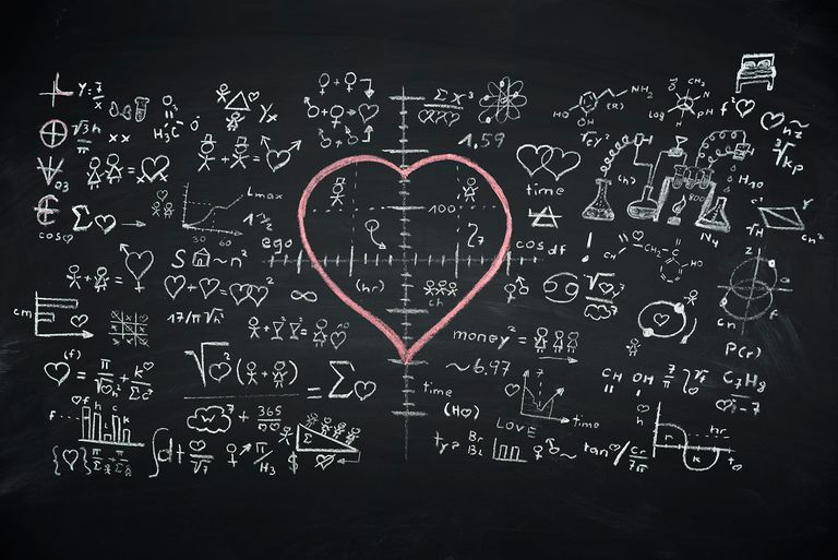 If you stop to think about it, love is a matter of chemistry!