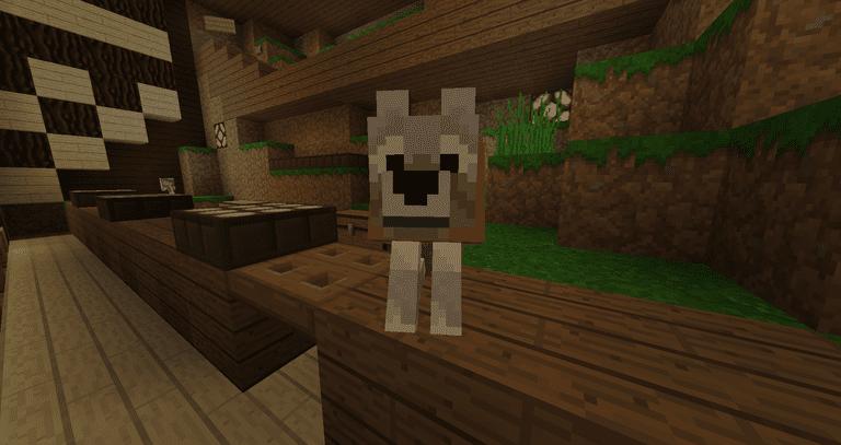 Minecraft Wolves - 1