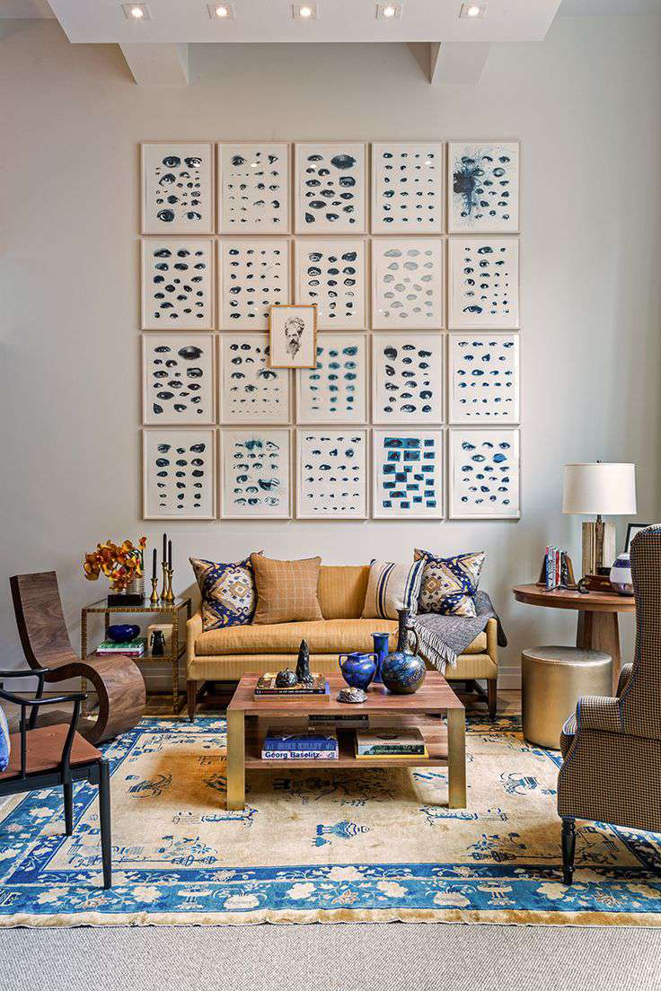 Design Geek: The History Of The World's Favorite Color In Rugs