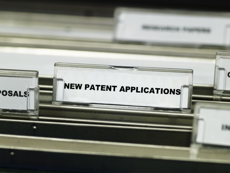 Patent applications in a drawer