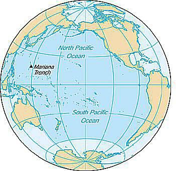 Pacific Ocean Overview Formation Topography And More - World map pacific ocean