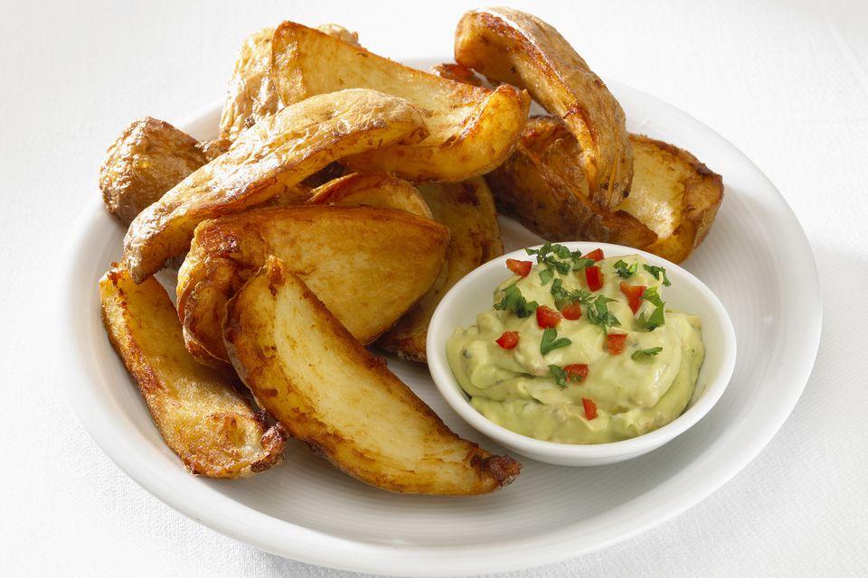 Potato Skins With Guacamole