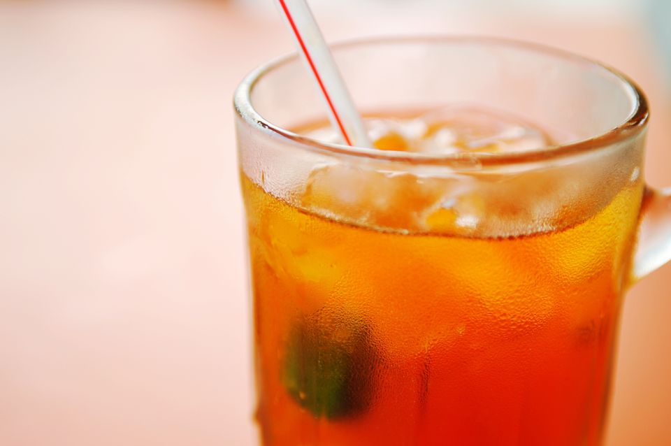 iced oolong tea