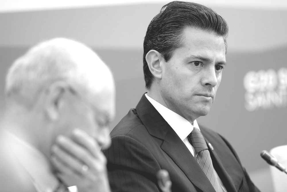 President of Mexico Enrique Pena Nieto