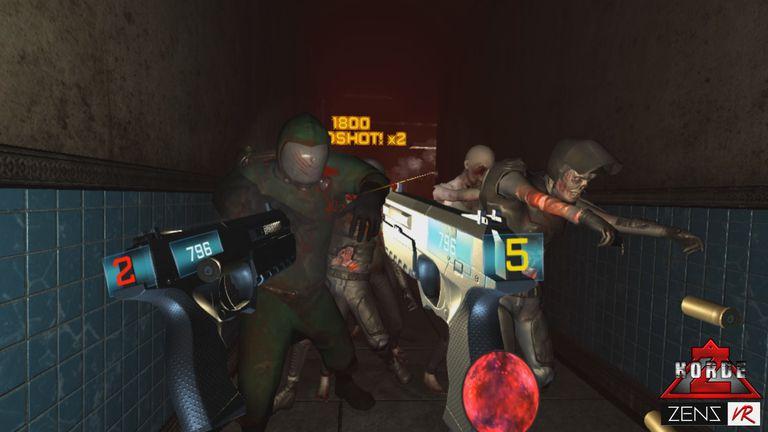 Screenshot from HordeZ by Zenz VR