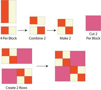 Easy Double Four Patch Quilt Block Pattern : 4 quilt block patterns - Adamdwight.com
