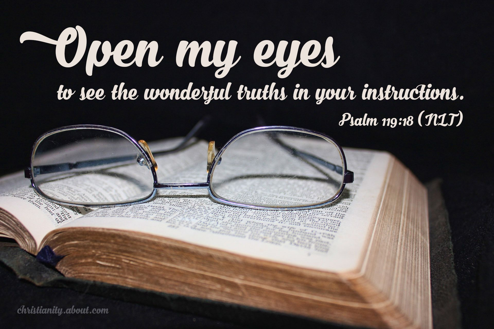 Open My Eyes Psalm 119 18 Verse Of The Day