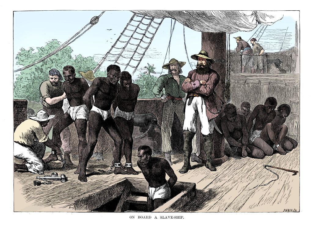 the historical evidence of the african slave trade industry Jewish journalist attacks prof tony martin for his revelations on their role in the black african slave trade  industry and in tax farming  the slave trade was.