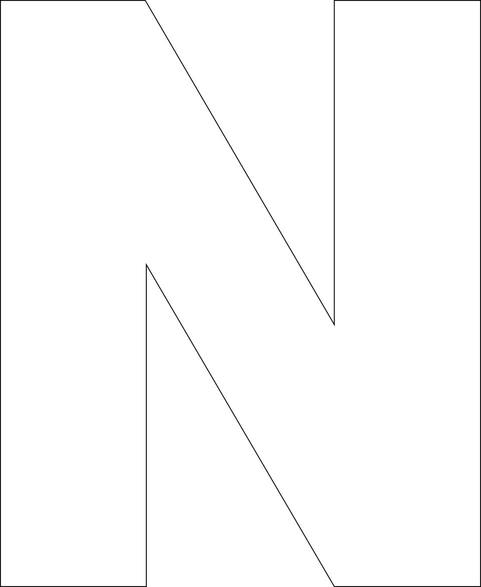 It is an image of Selective Letter N Printable