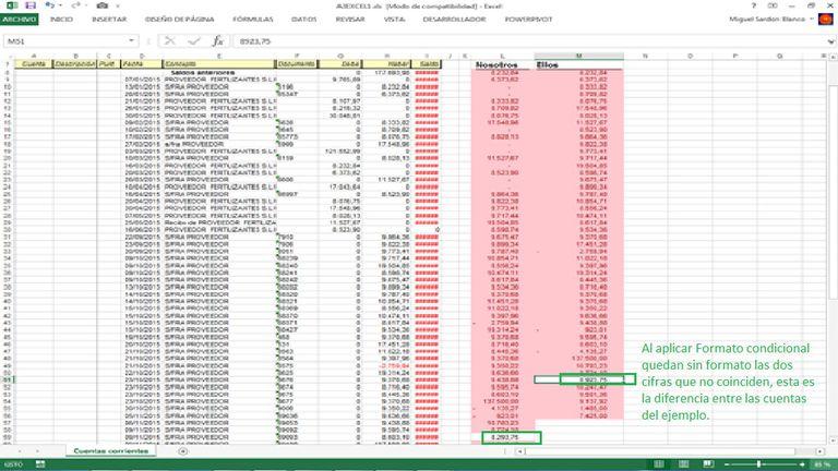Duplicar valores en Excel Formato Condicional