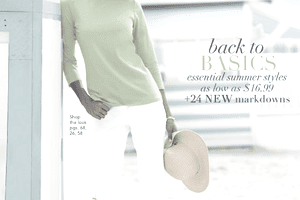 Picture of a free clothing catalog from Chadwicks