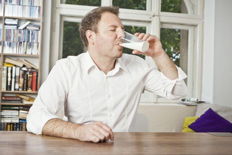 Drinking milk will not help heal an ulcer.