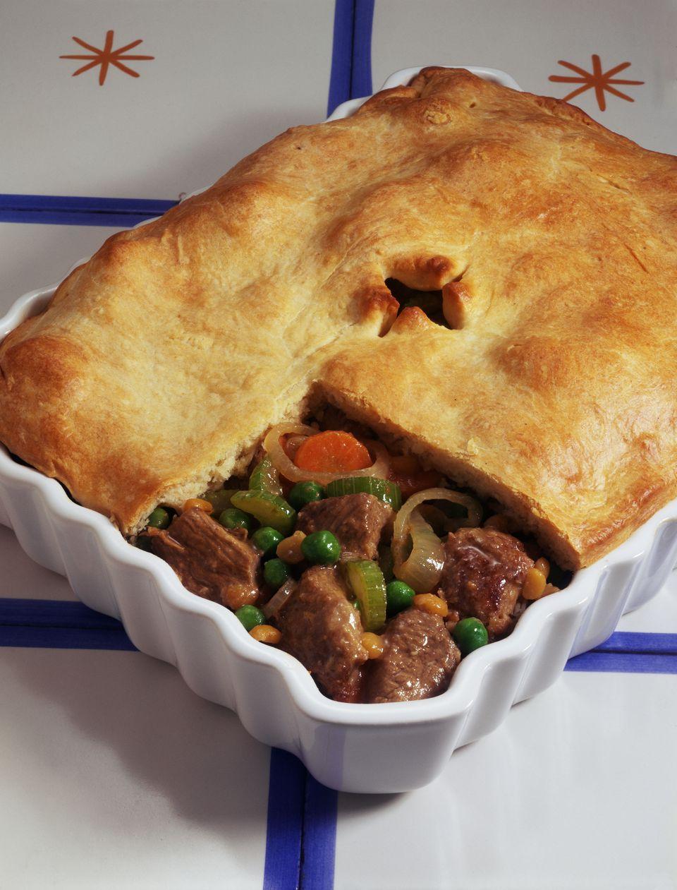 Meat pot pie