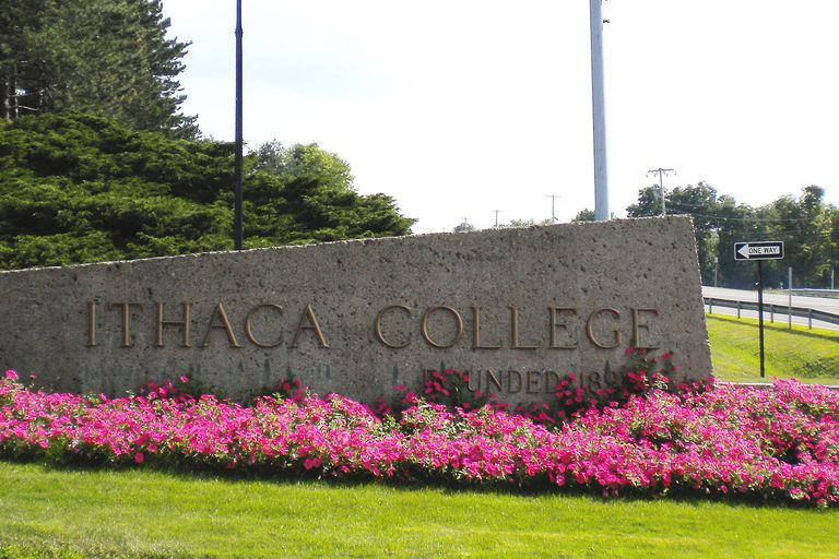 The Entrance to Ithaca College