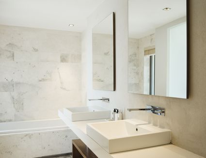 Bathroom Mirrors That Are Larger Than Life