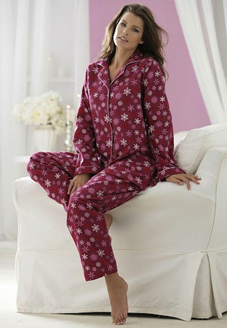 Women S Flannel Sleep Shirt