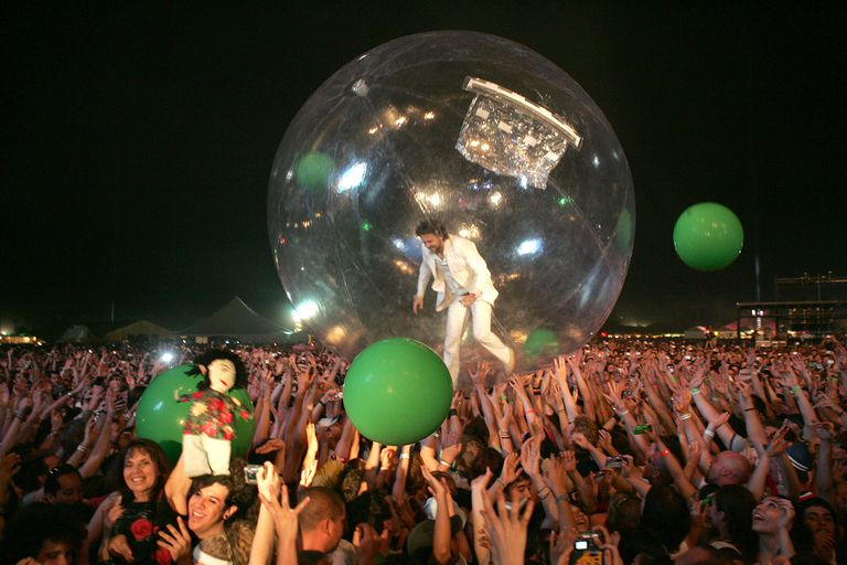 The Flaming Lips at Coachella 2004