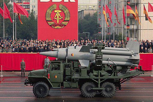 East German Military Parade