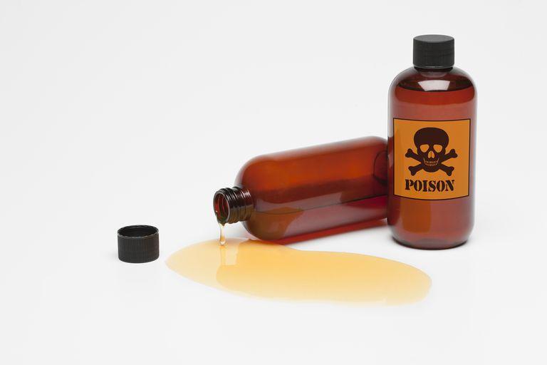 Poison Bottles Spilling