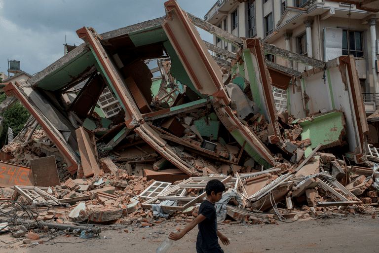 2015 Nepal earthquake damage