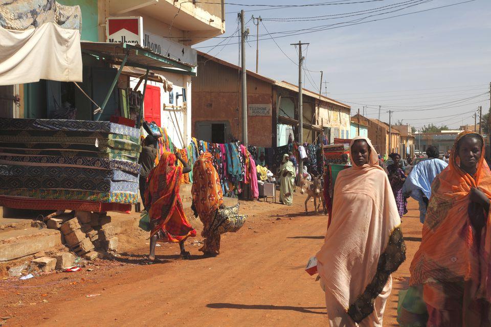 Western Africa, Mauritania, S?n?gal river valley, Kaedi market