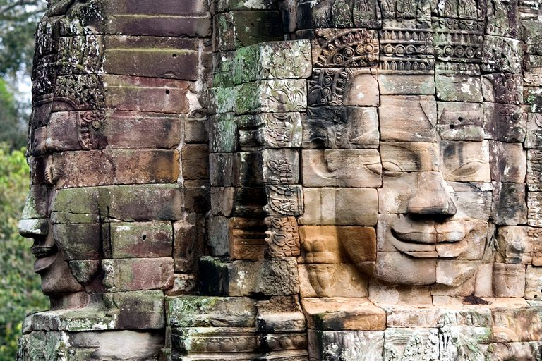 Bayon Temple at Angkor Wat