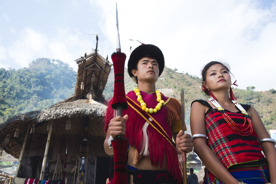 Tribes in Nagaland.