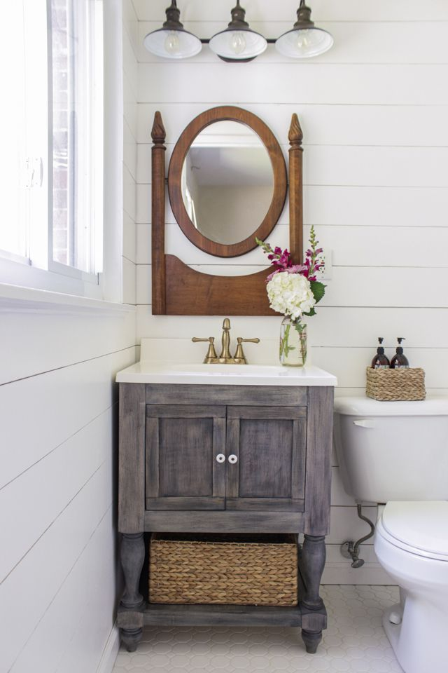 Small Bathroom Vanity From Shades of Blue Interiors