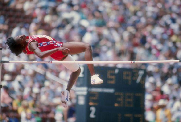 Jackie Joyner-Kersee, High Jump, 1984 Olympics