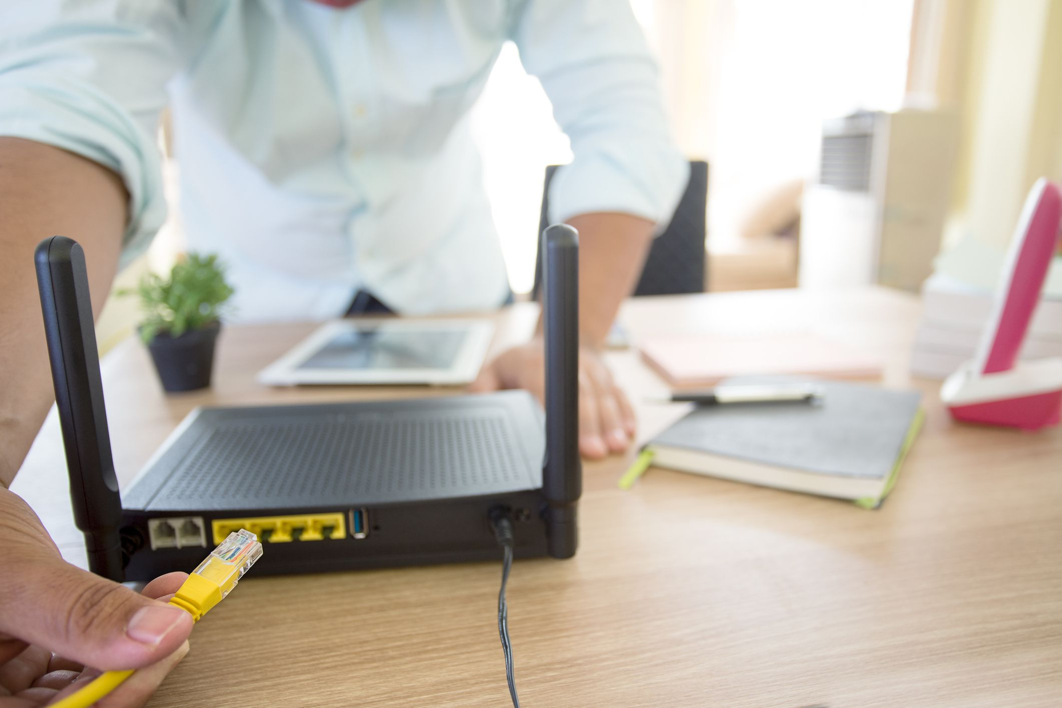 how to make my laptop a router