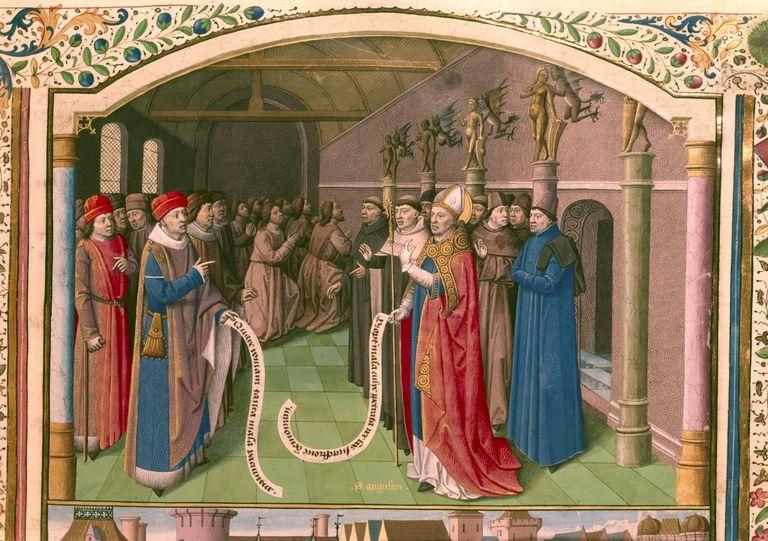St. Augustine, Bishop of Hippo (354-430)