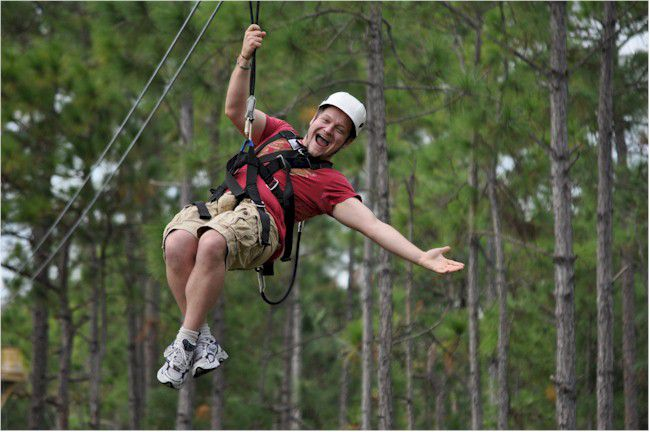 Florida EcoSafari Zip Line