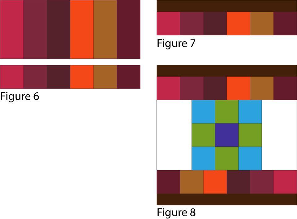 Sew Dancing Nine Patch Quilt Blocks