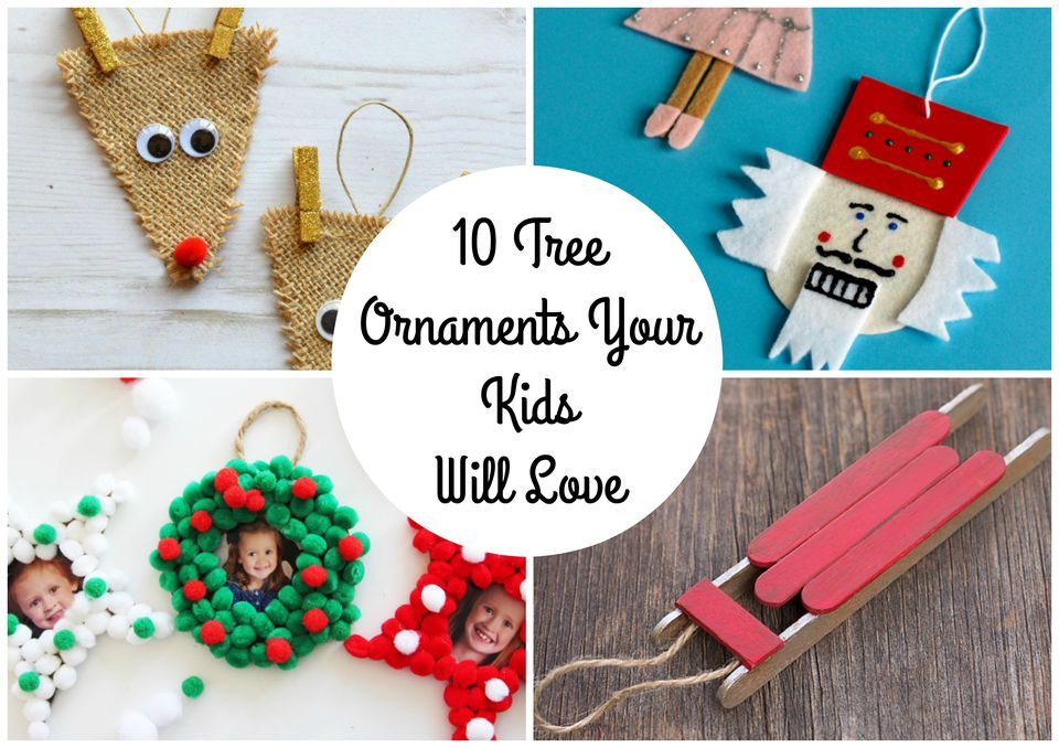 10 Tree Ornaments Your Kids Will Love