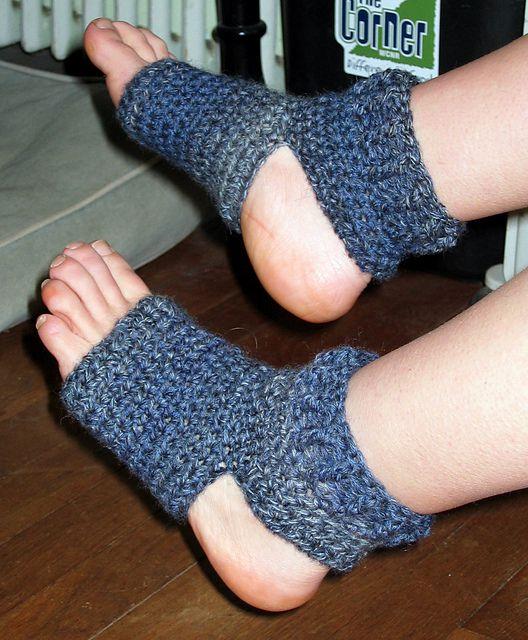 Yoga Socks Free Crochet Pattern
