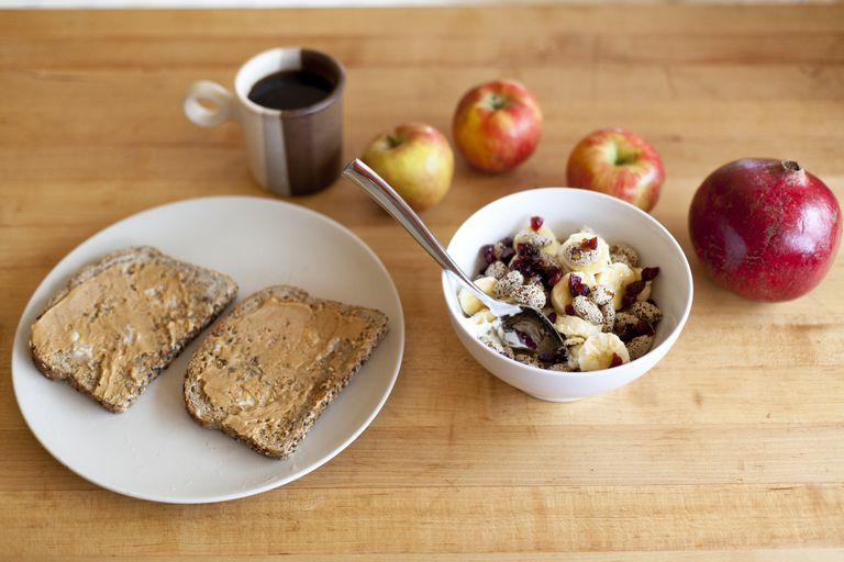 Start with an easy healthy breakfast.