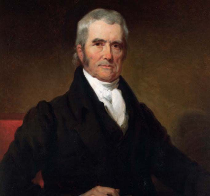 John Marshall, Chief Justice of the Supreme Court