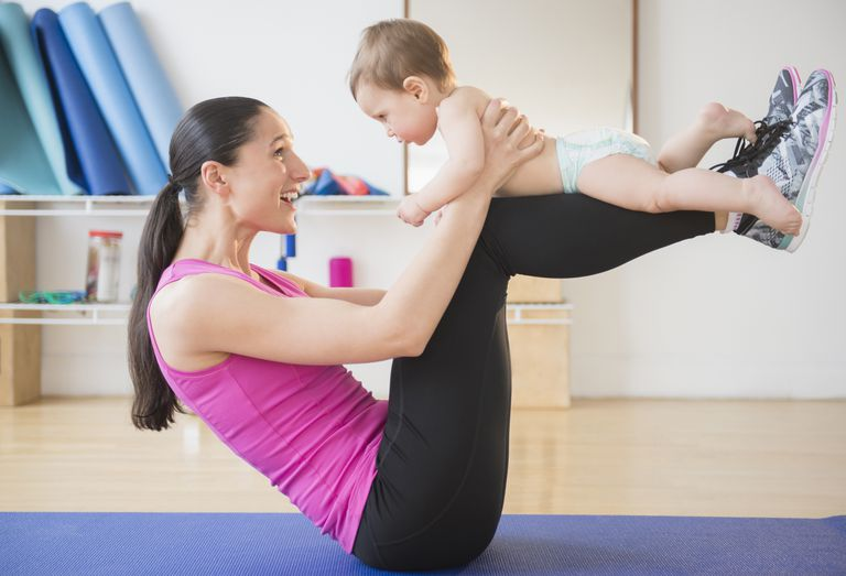 Mommy and Me Yoga Class