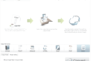 Screenshot of PDFMate PDF Converter Free in Windows 7