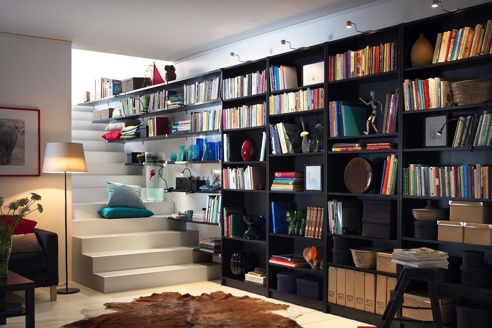 Eccezionale IKEA Hacks: the Best 23 BILLY Bookcase Built-ins Ever HG17