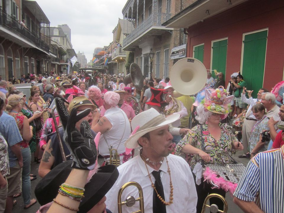 Gay Easter Parade NOLA 2013 Vocal Chorus Gay Easter Parade, New Orleans
