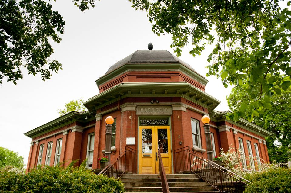 A Photo of The Hockaday Museum in Kalispell, Montana.