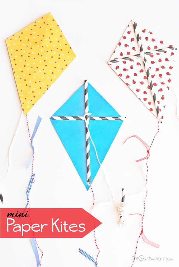 Mini Paper Kite Craft