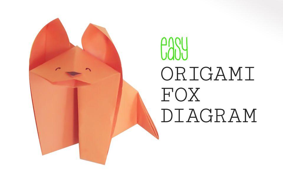 easy origami fox instructions