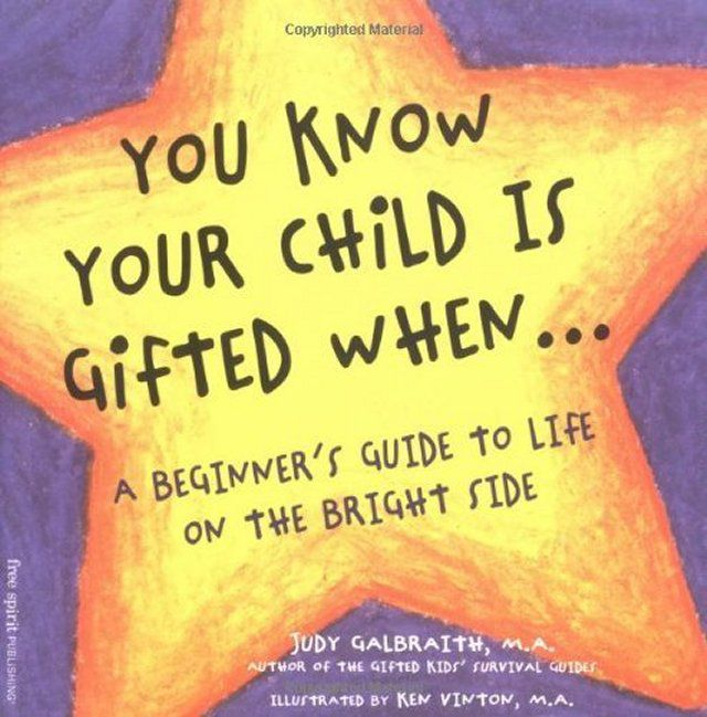 You Know Your Child Is Gifted When...