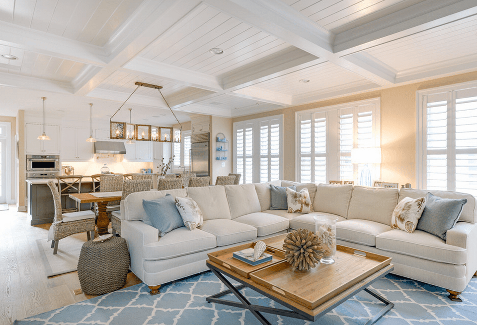 20 Beautiful Beach House Living Room Ideas