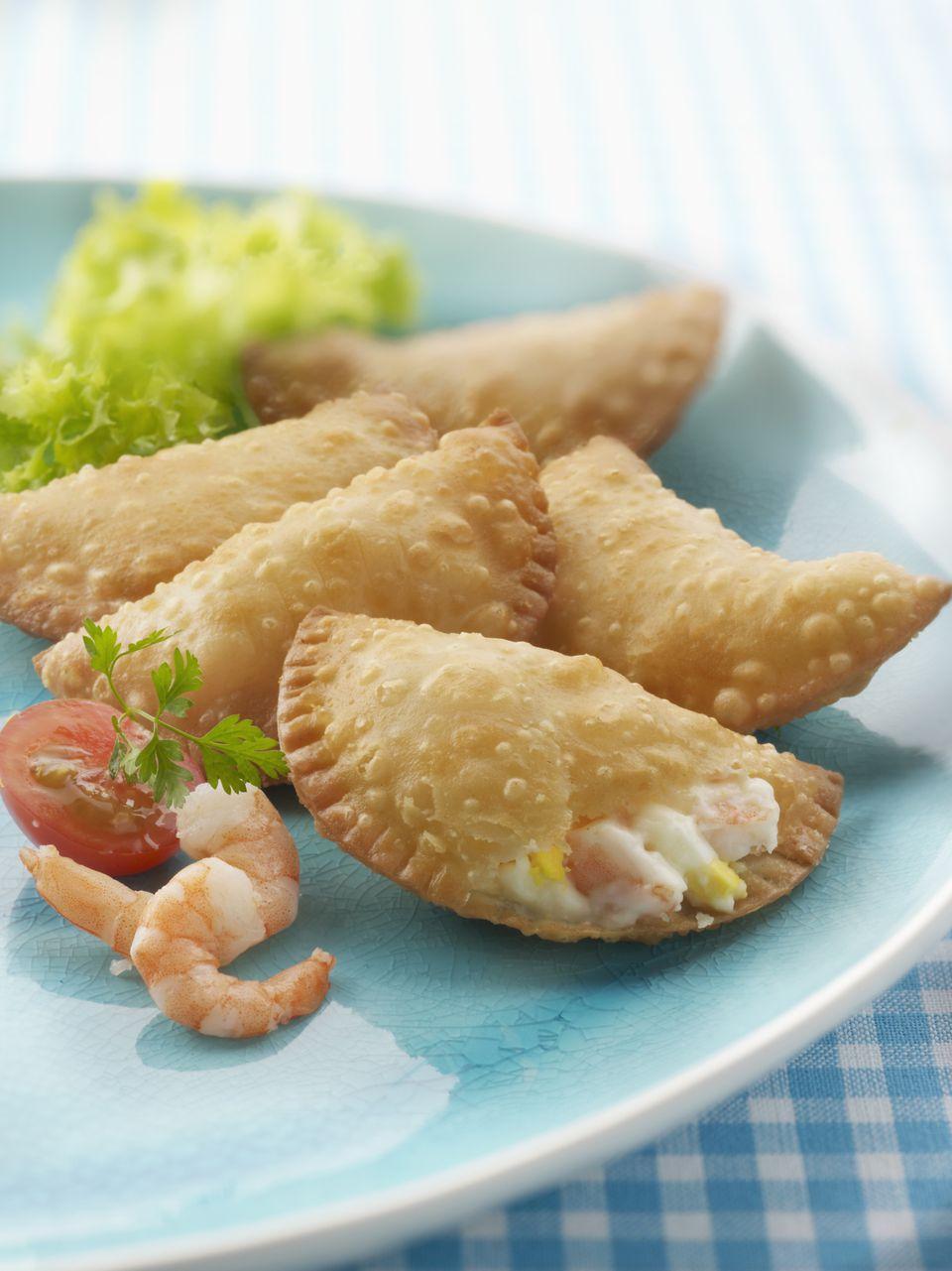 Shrimp empanadas