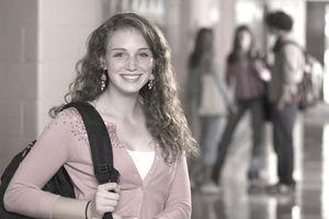 Teen going to a job interview