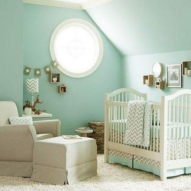 calming nursery colors