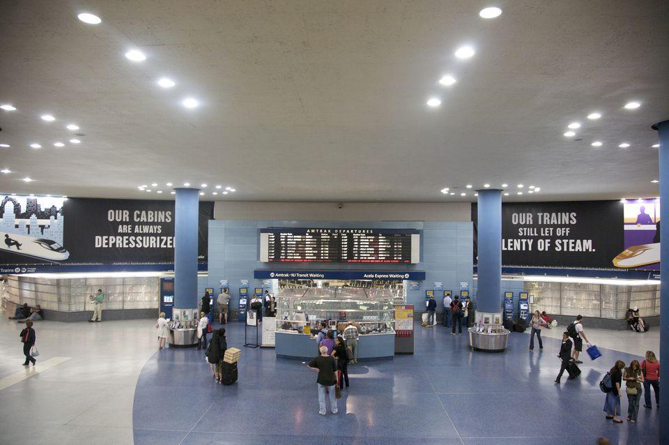 Amtrak, Penn Station, Midtown West, New York, NY